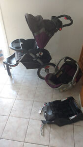 Travel System Jogging Stroller and Car Seat
