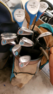 Vintage ladies golf clubs