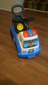 Ride on paw patrol car