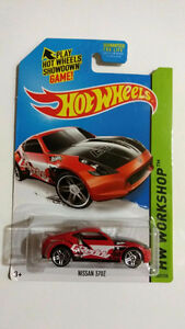 HOT WHEELS NISSAN/DATSUN/SKYLINE