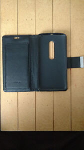 Moto X Play with Wallet Case and Screen Protector Peterborough Peterborough Area image 2