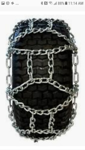 LOOK > >> New Tire Chains, For Tractors, Skylifts, Graders, ETC.