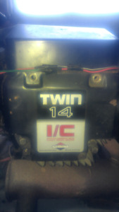 14 horse twin Briggs and Stratton