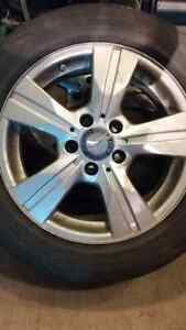 205 55 16 mercedes b200 tires and rims.