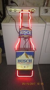 Neon BUSCH Beer Sign