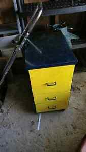 Solid wood rolling drawer unit. Free