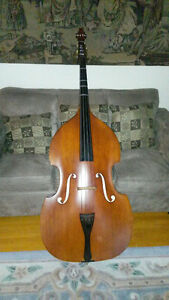 Upright 1/2 Bass Hermann Luger Stradivarius VB100