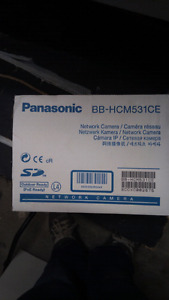 Panasonic Network security camera.