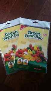 Keep Your Produce Fresh With Green Fresh Bags!