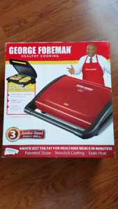 George Foreman Grill - BRAND NEW