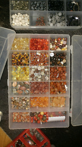 Reiki Master selling beloved bead collection