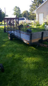 Utility trailer 13 ft long