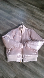 Women Gap pink jacket size small