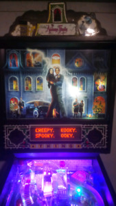 Addam's Family Pinball Collector Quality
