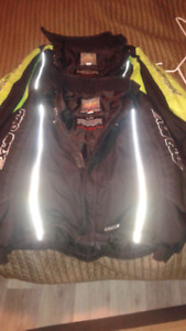 Promax snowmobile jackets sz 18 med to large.