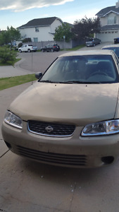 2002 Nissan Sentra Sedan only $1495 Active Status