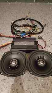 Hogtunes amp and speakers harley davidson