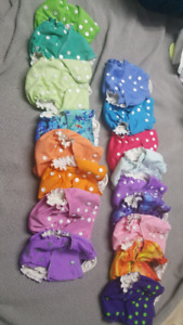 Easy peasie cloth diapers