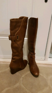 Women's Aldo Leather boots - Size 39 (8.5)...