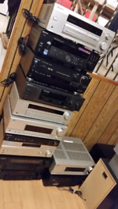 Japan band stereo receivers