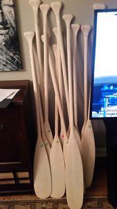 Unfinished paddles $30 each
