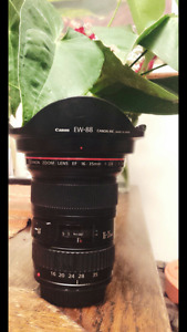 Reduced Price! Canon EF 16-35mm 1:2:8 L II USM lens