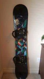 Rossignol Taipan 156cm Snowboard K2 bindings