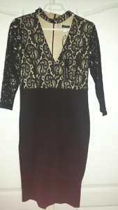 Brand new with tag Lace Black Dress size XL