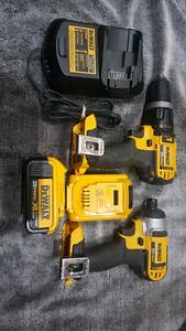 Dewalt 20V Drill/Impact kit