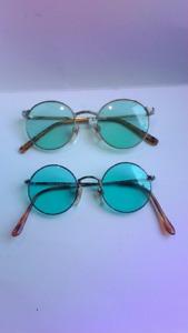 Lunettes vintage ronde icône sunglasses Bono U2