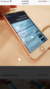 32gig gold iphone7