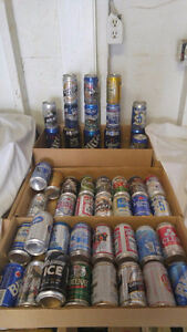 """BEER Cans """"full"""" collectible  cans for $30.00 FIRM London Ontario image 1"""
