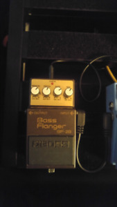 Boss bass flanger