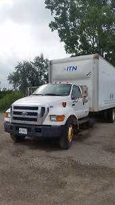 2006 Ford F-650 5 Ton Straight Truck