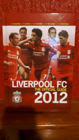 Liverpool FC the official guide 2012 book