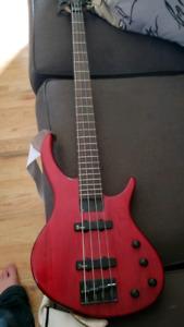 Tobias 4 string bass.