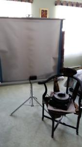 Projecteur et Ecran