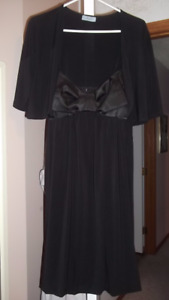 Never Worn- Black Dress and Coverup