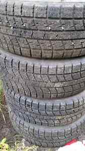 Set of 195/60/15 winter tires