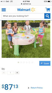 Water table new in box