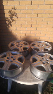 "16"" Aluminum Wheels, in Kitchener, off a Ford $80"