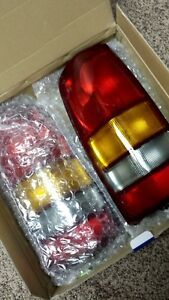 New tail lights for 1999 to 2003 Chevy/GMC Truck