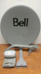 "Bell ExpressVu 20"" Satellite Dish With Twin DP Plus Digital LNBF"