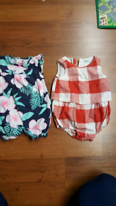 Baby girl summer 12 to 18 months old navy Carter's child place