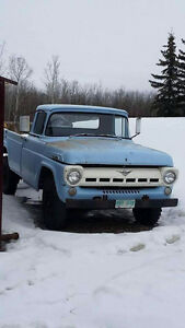 1957 ford f 350 FOR SALE OR TRADE