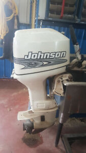 25 johnson 2 stroke