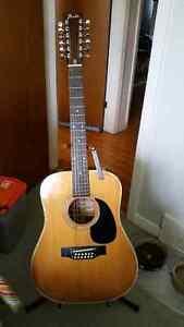 Vintage 1978 Fender 12 String Guitar