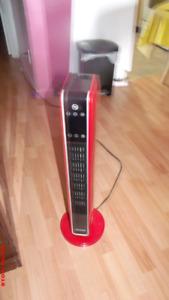 Chaufferette électrique couleur Rouge