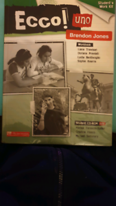 Ecco! Uno Students Work Kit (Workbook) No CD included Windsor Gardens Port Adelaide Area Preview