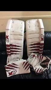 Brian h series pads and glove
